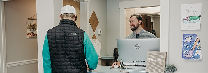 Chiropractor Whitefish MT Dr Peter Fennelly Patient Welcome